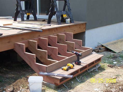 stair deck steps