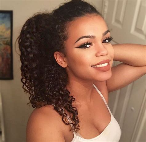 mixed race long curly hairstyles 17 best ideas about brown curly hair on pinterest long