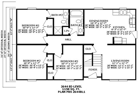 Bi Level Floor Plans by Premier Ranch And Bi Level Homes Floor Plans Homes From