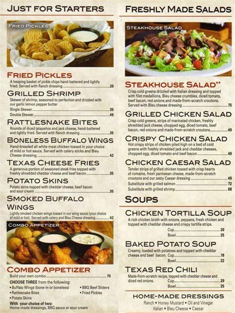 texas road house menu texas roadhouse menu prices dinner lunch menu lobster house