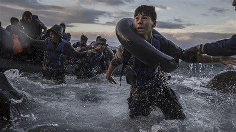 imagenes impactantes refugiados impactantes im 225 genes de refugiados destacan entre