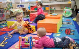 Day Care Babies In Day Care Catch Stomach Bugs Earlier But Get