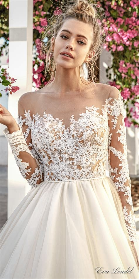 Hochzeitskleid Halblang by Lendel 2017 Wedding Dresses Santorini Bridal