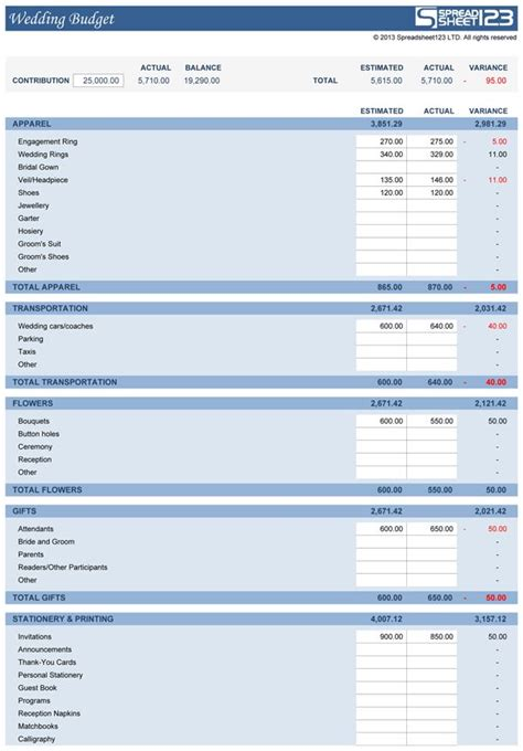 wedding budget calculator best 25 wedding budget templates ideas on