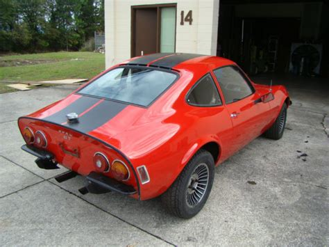 1973 Opel Gt For Sale by 1973 Opel Gt For Sale Low And New Paint Classic