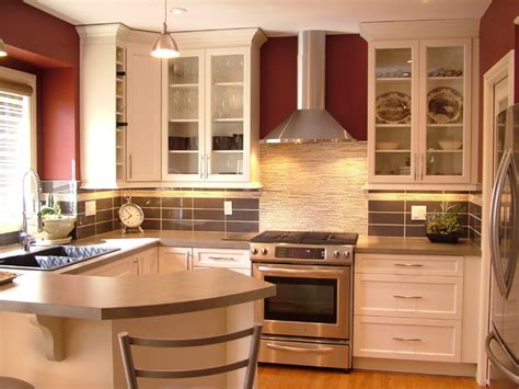 Small Modern Kitchen Interior Design Small Kitchen Reno White Contemporary Kitchen