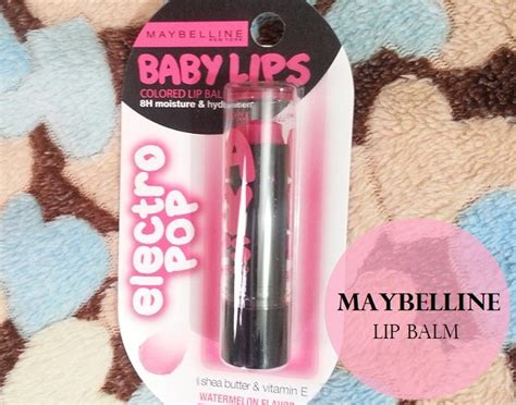 Maybelline Electro Pop maybelline baby electro pop pink shock lip balm