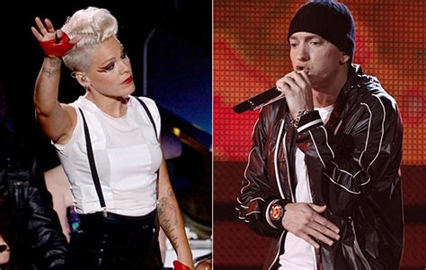eminem and pink pink and eminem collaborate for here comes the weekend