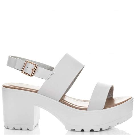 axe white sandals shoes from spylovebuy