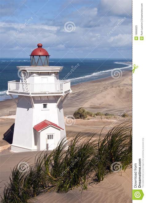 pouto lighthouse kaipara northland new zealand stock image image 18666023