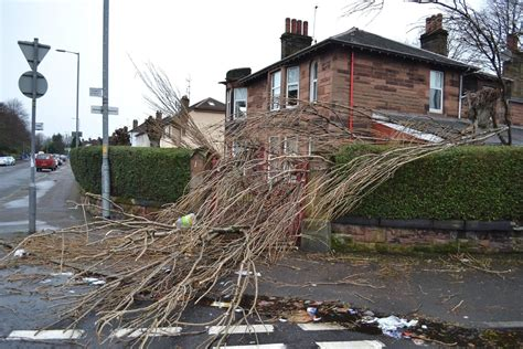 scotland weather pictures show full extent  storms