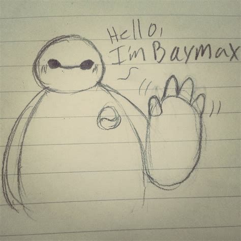 doodle baymax baymax doodle by tsuenica on deviantart