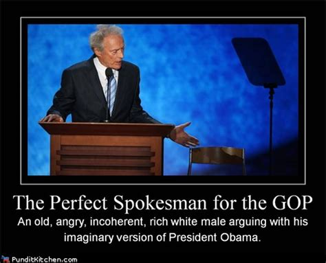 Clint Eastwood Chair Meme - image 389334 clint eastwood s empty chair speech