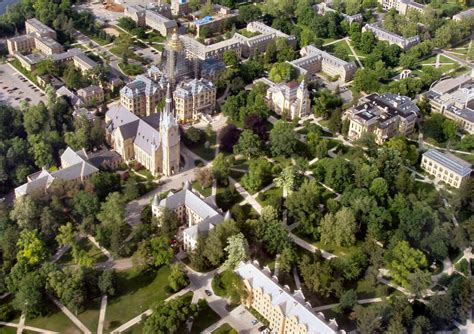 Cost Of Notre Dame Mba by 50 Great Affordable College Towns In The U S Great