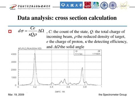 cross section calculator ppt study of 58 ni excited states by p p inelastic