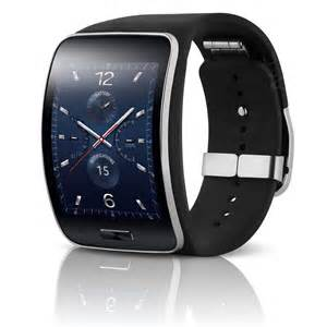 samsung smartwatch samsung galaxy gear s sm r750v smart curved verizon charcoal black ebay