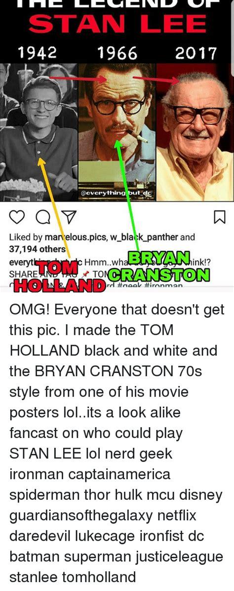 bryan cranston stan lee 25 best memes about nerd stan and stan lee nerd stan