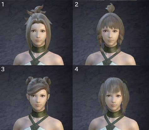 ffxiv change hair colour shared hairstyles new hairstyles and changing them page 7