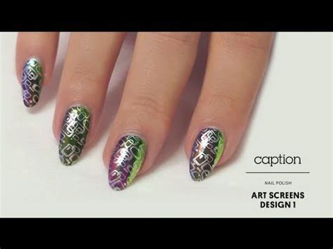 Caption Screens Nails