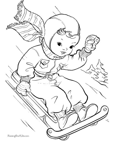 printable xmas scenes christmas scenes coloring pages az coloring pages