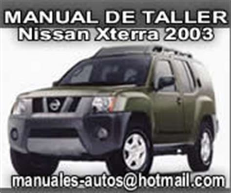 auto repair manual online 2003 nissan xterra parental controls nissan xterra 2003 manual de taller reparacion repair7