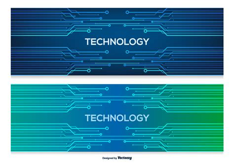 Technology Abstract Banners Download Free Vector Art Stock Graphics Images Technology Banner Template
