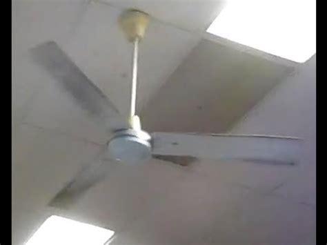 dayton industrial ceiling fan 56 quot dayton industrial ceiling fans youtube