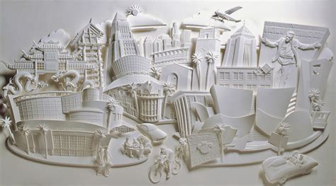 Paper Artists - simply creative 3d paper sculptures by jeff nishinaka
