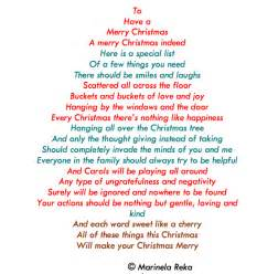 Christmas poem christmas poems and quotes quotesgram