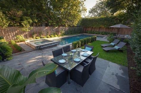 hot tub and pool small backyard oasis pinterest