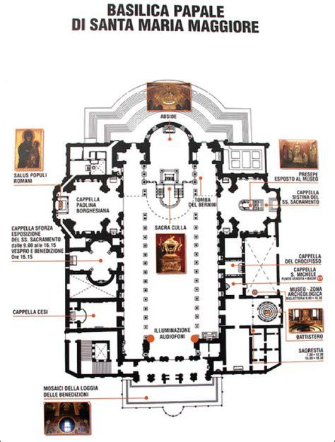 floor plan of the basilica di santa maria maggiore rome art history final art history 495 with jennifer