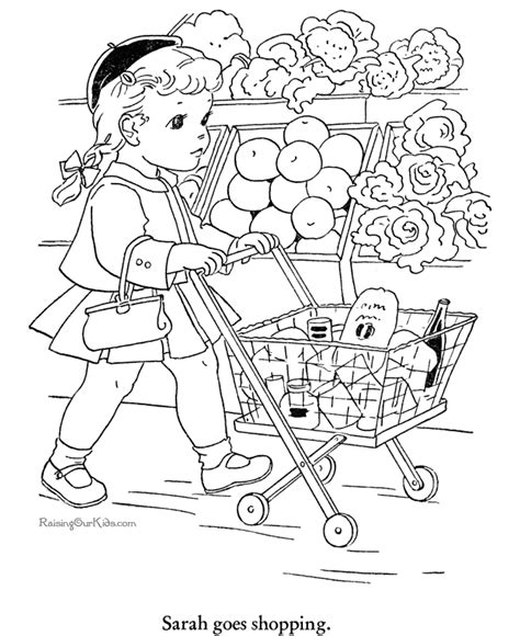 printable coloring pages grocery store free coloring pages of grocery store