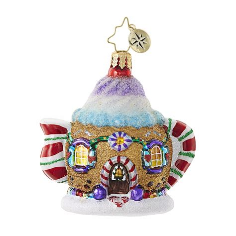 sweet tea little gem ornament by christopher radko