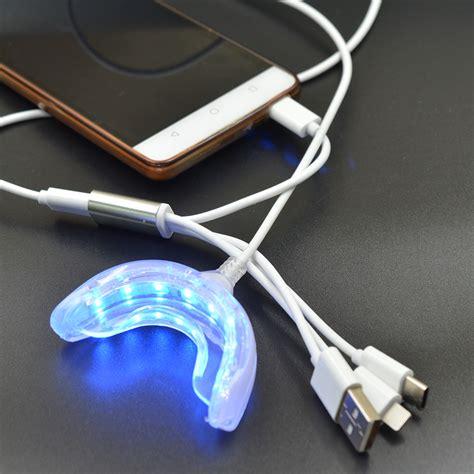 blue light teeth whitening dental whitening instrument usb charging 16 blue led