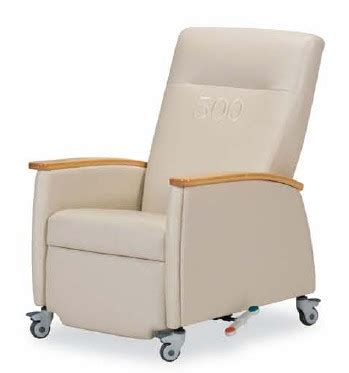 patient recliners a patient room recliner by ioa furniture medcity news