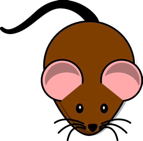 mice clipart brown mouse lab clip at clker vector clip