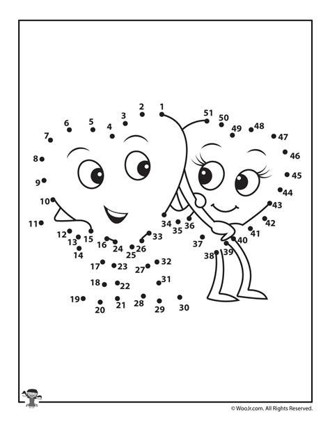 printable valentine dot to dot printable valentine s day dot to dot woo jr kids