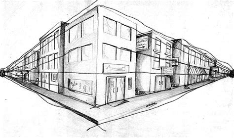 Drawing 2 Point Perspective Buildings by 2pt Perspective Resource Post Miannitti15