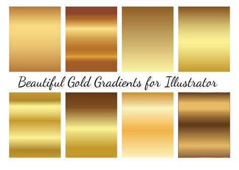 illustrator pattern gold gold vector gradients download free vector art stock
