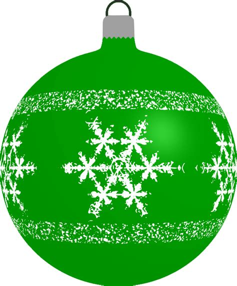 green bauble clipart patterned bauble 4 green