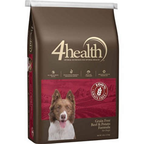 4health grain free puppy food 4health grain free beef potato food 4 lb at tractor supply co