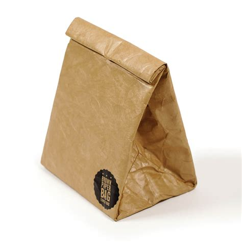 A Paper Bag - brown paper lunch bag