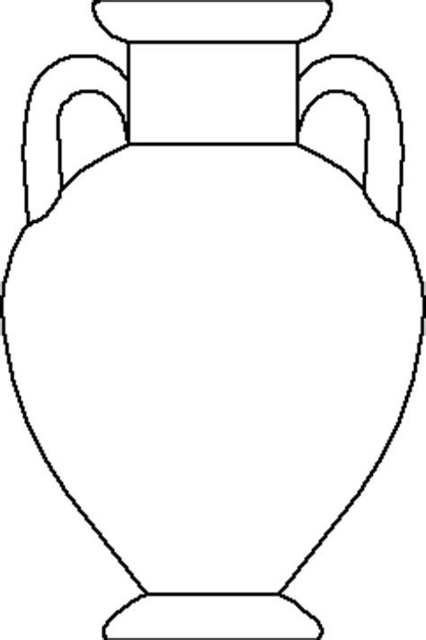 Printable Vase Pattern Greek Vase Template Clipart Best