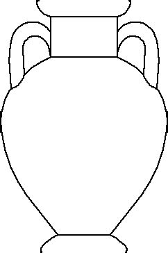 Vase Template by Ancient Pottery Templates Clipart Best
