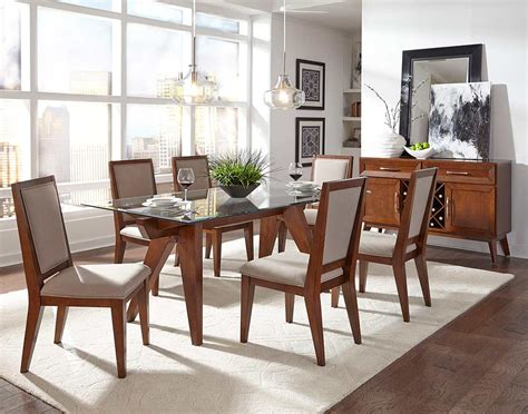 traditional glass dining table traditional glass top dining table nj madlyn dining