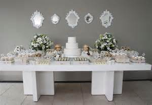 White Party Decorations Kinds Of Celebrity Baby Shower Themes Various Themes For
