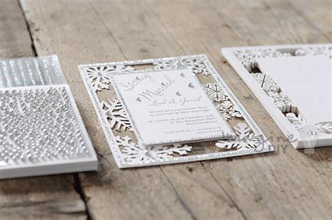 Snowflake Wedding Invitations Diy snowflake laser cut wedding invitation diy imagine diy