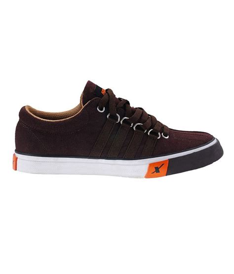 sparx brown canvas shoes price in india buy sparx brown