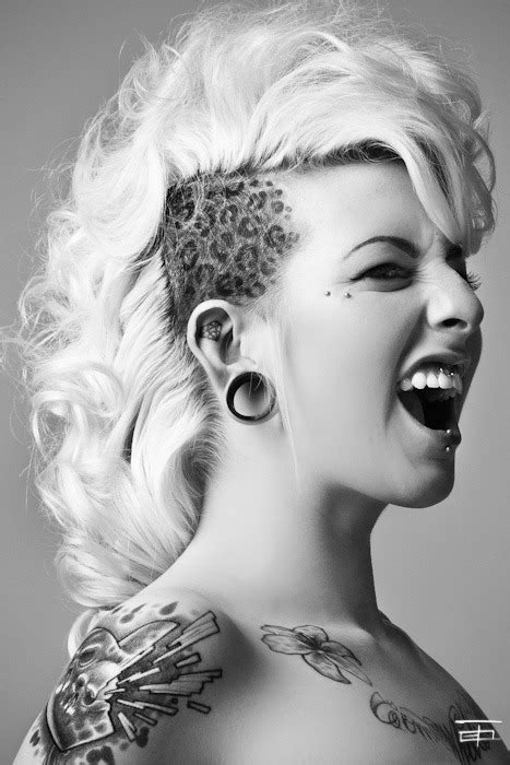 mohawk hair long in the front hair mohawk smooth e s s photo beautylish