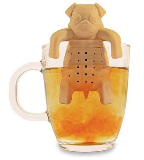 pug tea infuser tea infusers start your morning with a smile